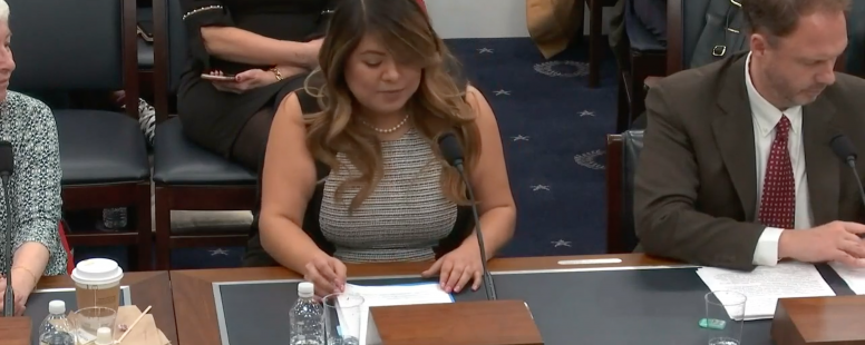 "Abigail Zapote's Testimony for ""Protecting and Improving Social Security: Benefit Enhancements"" Hearing on March 13,2019."